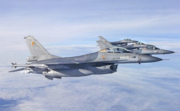 Tot 2018 geen Nederlandse F16's in strijd tegen IS