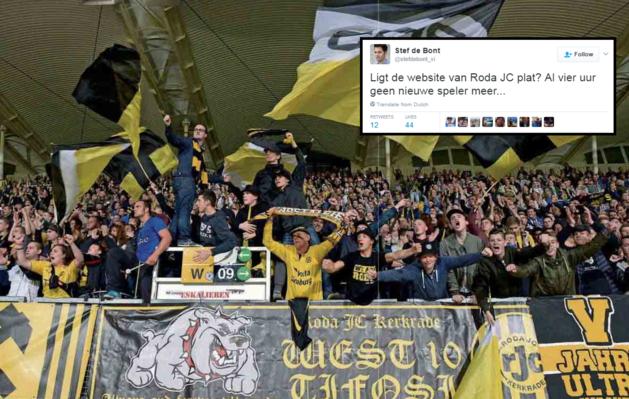 Dit zijn de grappigste tweets over het aankoopbeleid van Roda JC