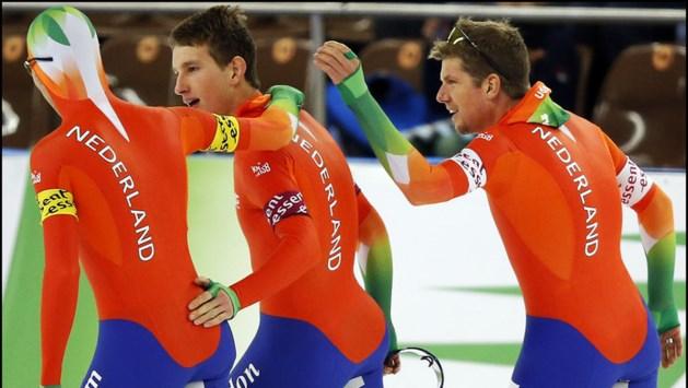 Bergsma, Blokhuijsen en De Vries nipt naar wereldtitel