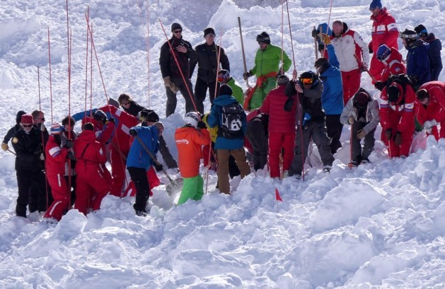 Zeker vier doden bij lawine in Franse Alpen