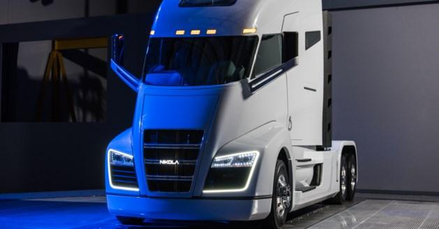 Het zoemt  en gonst: de e-truck komt