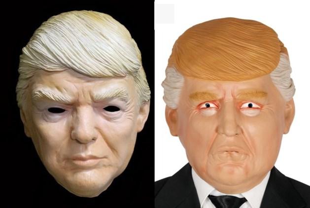 Masker Trump hit onder carnavalsvierders