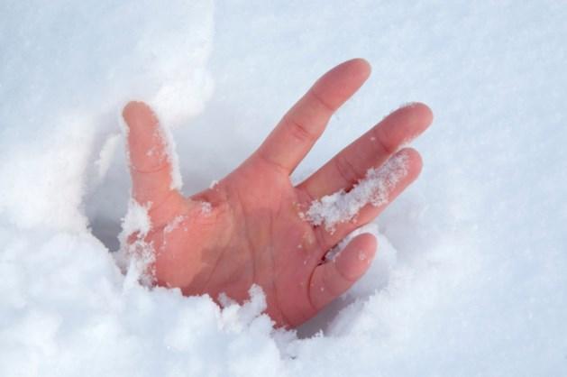 'Drie vingers boven de sneeuw redden mijn leven'