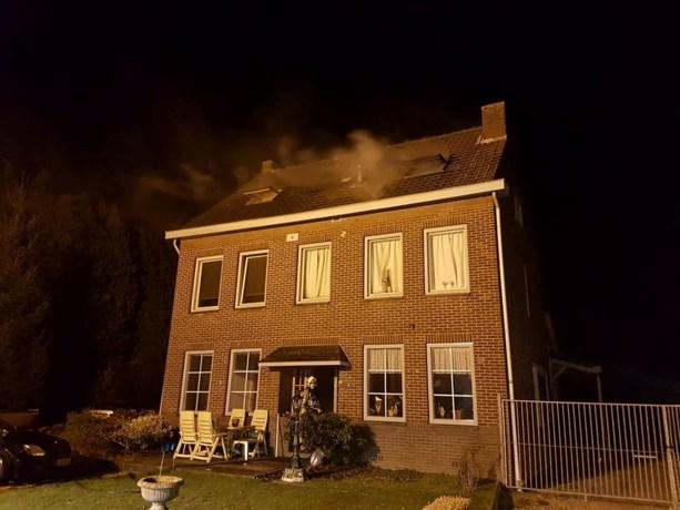 Hennepplantage ontdekt bij brand in Meerssen