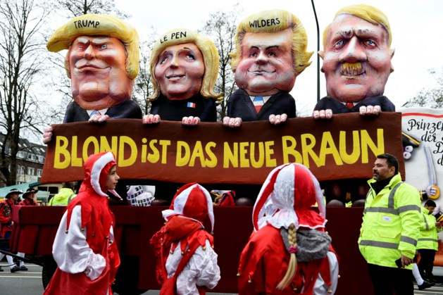Wilders verbolgen over Duitse carnavalswagen
