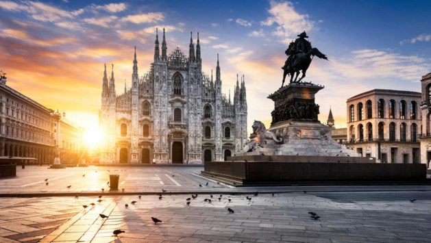 'Milaan goedkoopste Europese vliegbestemming'