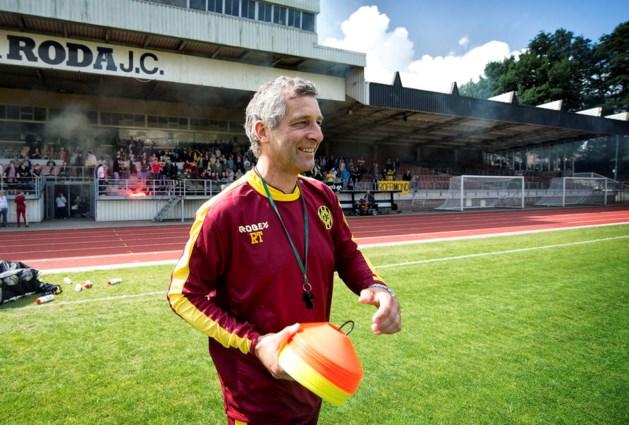 Rene Trost bij eerste elftal Roda JC