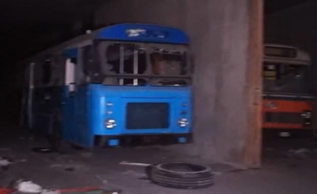 YouTubers vinden metrotunnel vol bussen in Luik