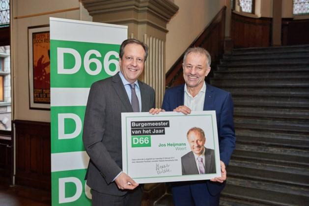 D66: Jos Heijmans Weert burgemeester van het jaar