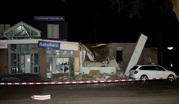 'Groep criminelen met zware explosieven zorgt voor onrust'