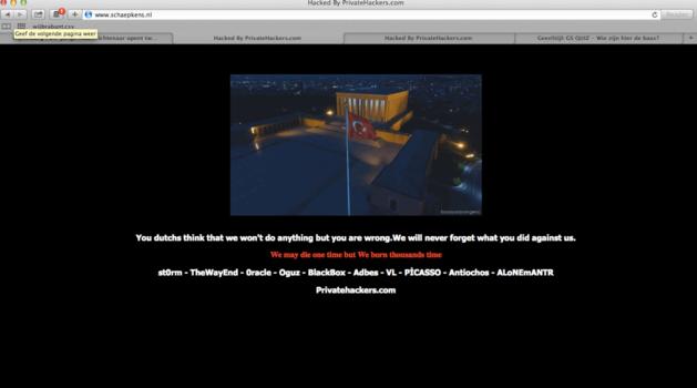 Turken hacken website Limburgs bedrijf