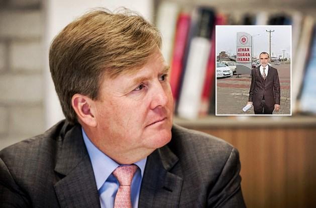 Turkse winkelier klaagt Willem-Alexander aan
