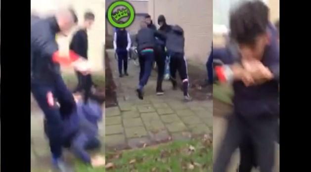 Politie onderzoekt filmpje van vechtpartij