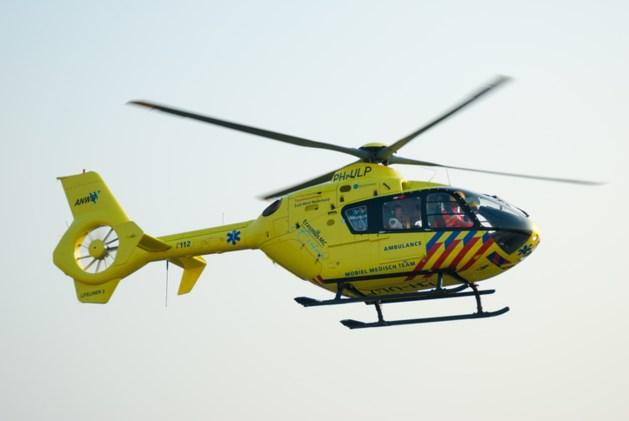 Groesbeker gewond na aanrijding met politiewagen