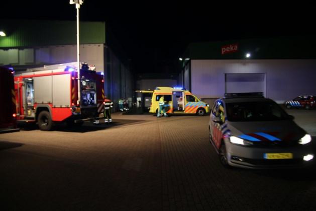 Persoon bekneld bij bedrijfsongeval in Venray