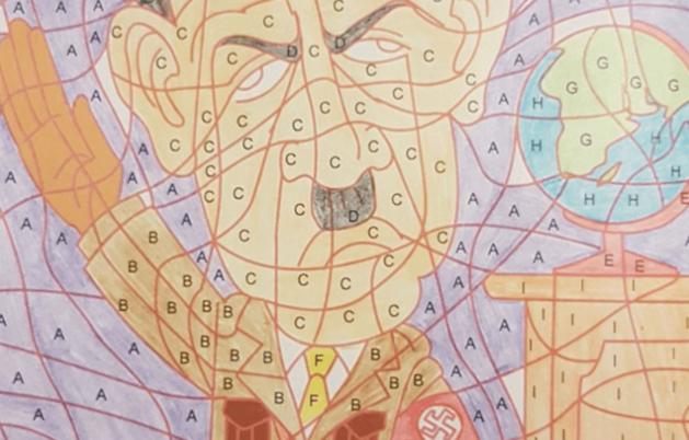 kruidvat haalt kleurboek met tekening uit de