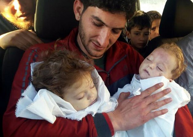 Man verliest 22 familieleden bij gifaanval Syrië