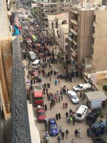 Zeker 36 doden bij bomaanslagen in kerken Egypte