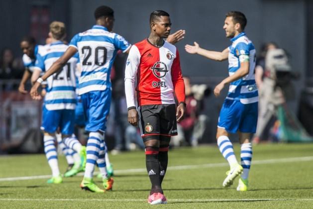 Voorsprong Feyenoord slinkt als sneeuw voor de zon