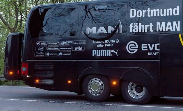 Politie: gerichte aanslag op spelersbus Borussia Dortmund