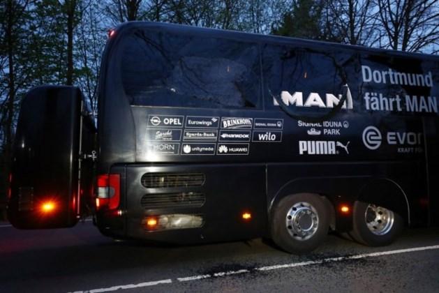 'Islamistische verdachte' vast na aanslag op spelersbus Dortmund