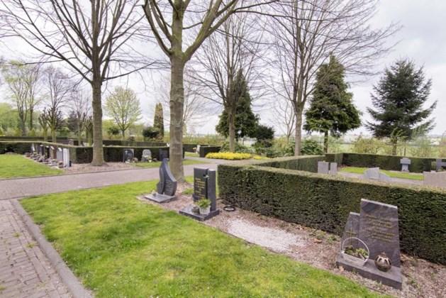 Ophef over bekladde grafstenen blijkt misverstand