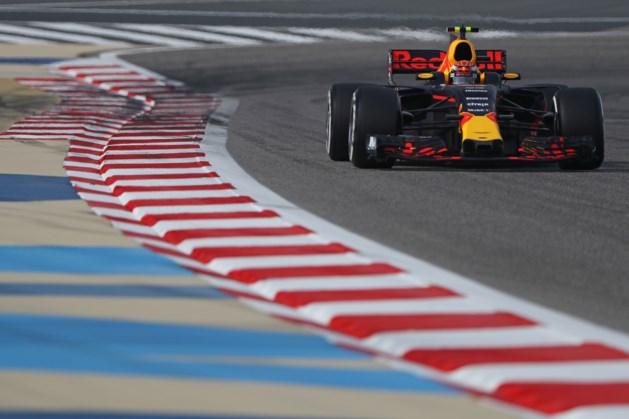 Max Verstappen valt uit in GP van Bahrein