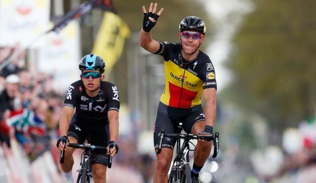 Kwiatkowski kan leven met tweede plek in Amstel Gold Race