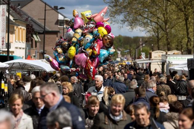 Duizenden bezoekers op jaarmarkt in Born