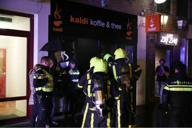 Veel rookschade in appartementen na brand