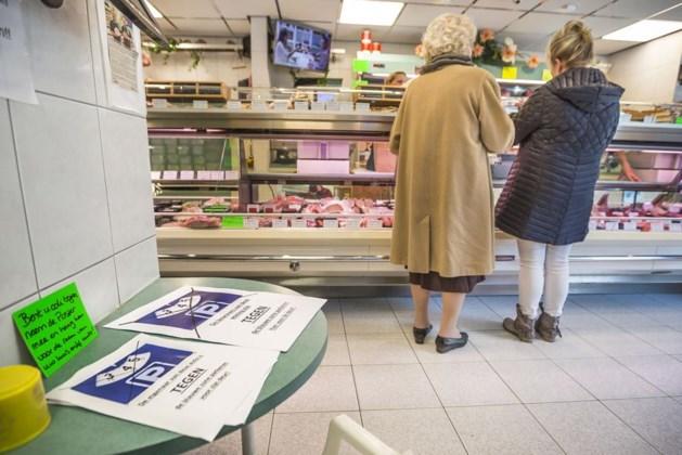 Protest tegen invoering blauwe parkeerzone in Venlo