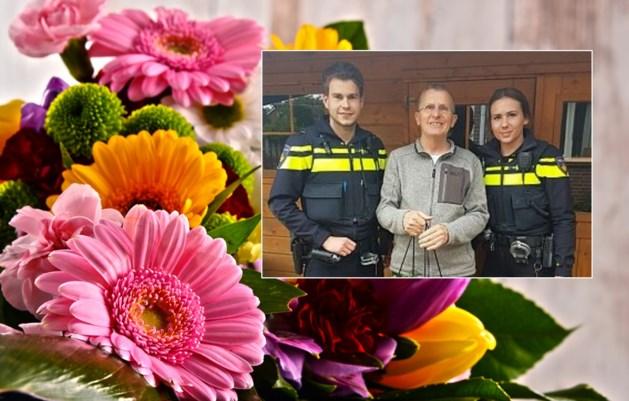 Bloemen voor 65-jarige man die inbreker overmeesterde
