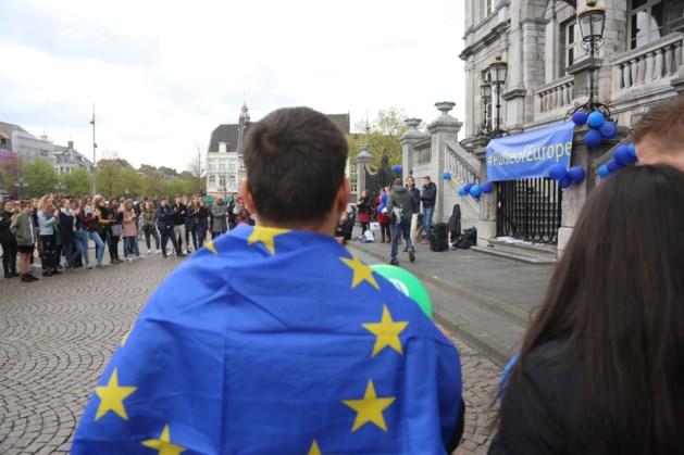 Opnieuw een zeldzame demonstratie in Maastricht