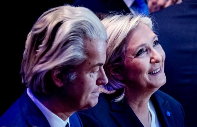 Wilders feliciteert Marine Le Pen: 'Geweldig nieuws'