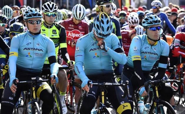 Tranen bij start Luik-Bastenaken-Luik om dood Scarponi