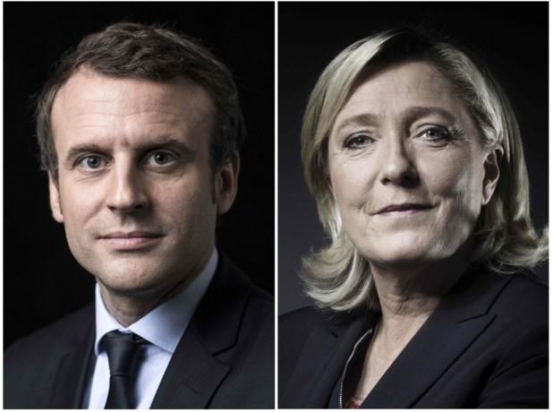 Macron: overwinning is keerpunt, Le Pen: historisch resultaat
