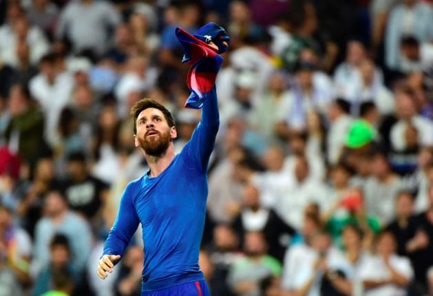 Messi houdt titelkansen Barcelona levend