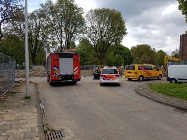 Gaslekkage door sloopwerkzaamheden in Maastricht