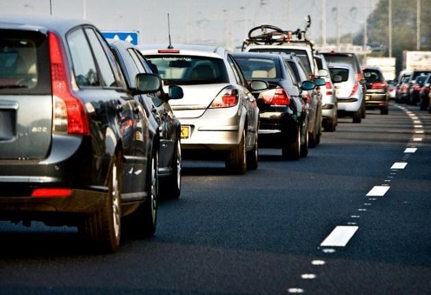 Ongeval met vier auto's op A2