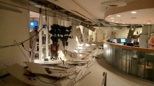 Materiaalkeuze oorzaak ingestort plafond ziekenhuis Venlo