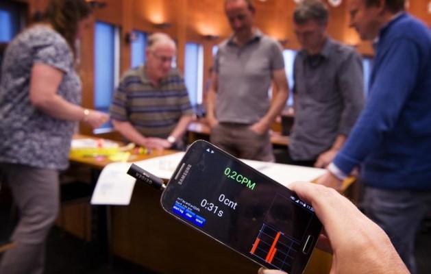Limburgers kunnen zelf radioactieve straling meten