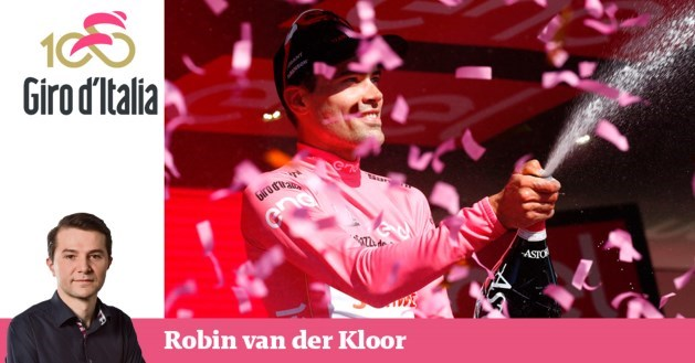 Blog: Tom Dumoulin is 'in control'