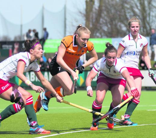Hockeyster Fortuin verruilt Oranje-Rood voor SCHC