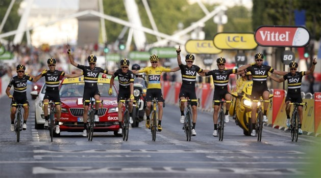 Tour de France start in 2019 in België