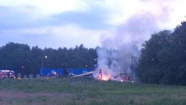 Minder treinen buiten spits op woensdag door ongeluk