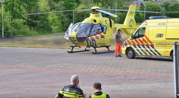 Politieman zwaargewond na val van 12 meter in liftschacht