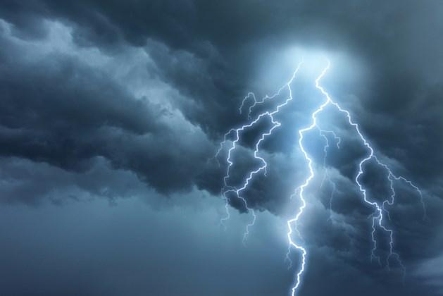 Akense overleden door blikseminslag