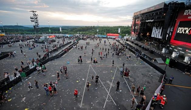 Muziekfestival Rock am Ring ontruimd vanwege terreurdreiging
