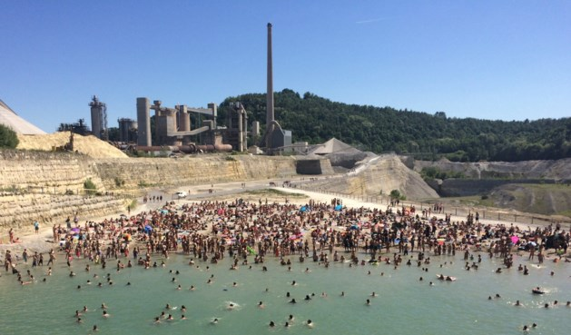 Zwemmen in populaire ENCI-groeve wordt helemaal verboden