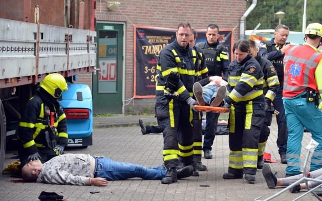 Training rond dodentruck: bloedbad in Vredepeel